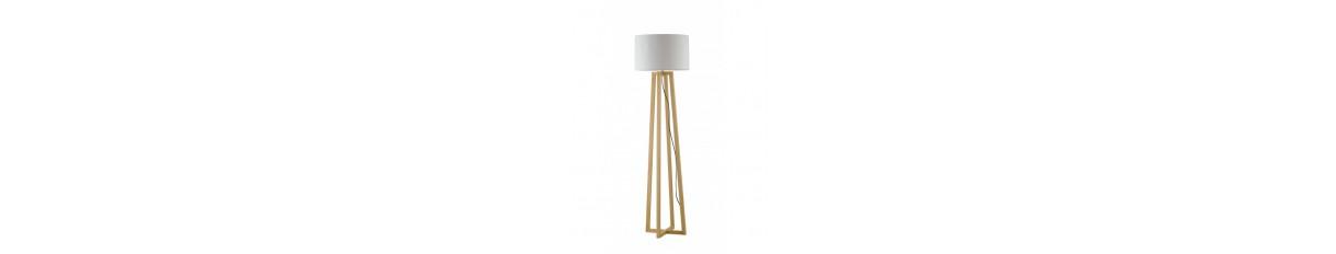 Lampade da terra in legno Luce & Luci Roma Tuscolana